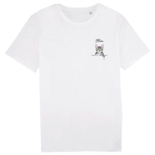 Tee-shirt Chat personnalisé Homme