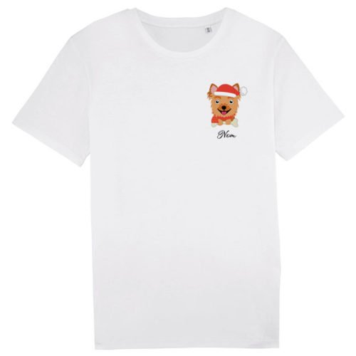 tee-shirt-chien-noel-yorkshire-homme